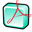 distiller, adobe, Acrobat Black icon