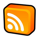 Rss, subscribe, feed, Newsfeed DarkOrange icon