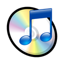 itunes Black icon