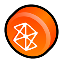 microsoft, Zune OrangeRed icon