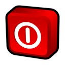 window, off, turn Red icon
