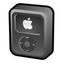 ipod, video, Black DarkSlateGray icon