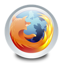 mozilla, Browser, Firefox Black icon