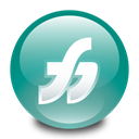 macromedia, freehand Black icon