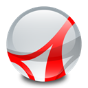 adobe, Acrobat, reader Gainsboro icon