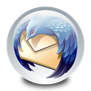 mozilla, Thunderbird Black icon