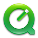 quicktime, green DimGray icon