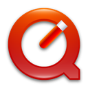red, quicktime Firebrick icon