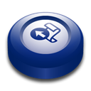 microsoft, Frontpage, office MidnightBlue icon