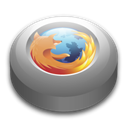 mozilla, Firefox, Browser Black icon