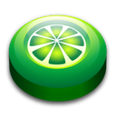 lime, wire Black icon