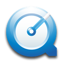quicktime Black icon