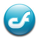 studio, Coldfusion Black icon