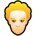 user, people, Face, member, male, Man, profile, Blond, Account, White, person, Avatar, Human Black icon