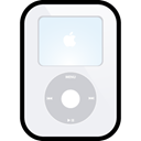 video, Apple, ipod, White WhiteSmoke icon