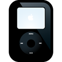 ipod, video, Black Black icon