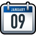 date, Schedule, Calendar WhiteSmoke icon