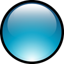 Aqua, Ball LightSeaGreen icon