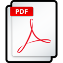 Pdf, adobe, Acrobat Snow icon