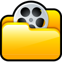 video, my video Gold icon