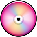 save, pink, disc, Cd, Colored, Disk Black icon