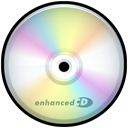 Cd, enhanced, Disk, save, disc PaleGoldenrod icon