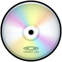 Cd, disc, save, Disk, video PaleGoldenrod icon