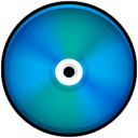 Blue, save, Disk, disc, Cd, Colored Icon