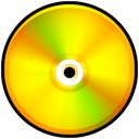 disc, generic, Dvd Gold icon