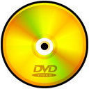 video, disc, Dvd Gold icon