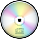 Cd, recordable, save, disc, Disk Black icon