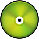 save, green, Colored, disc, Disk, Cd YellowGreen icon