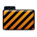 Alarm, Orange Icon
