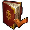 Ancient, legend Maroon icon