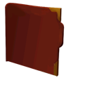 Ancient, backup, legend Maroon icon