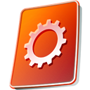 ip, system, Flash, ver, Live OrangeRed icon
