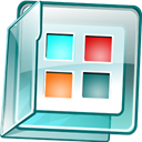 Flash, ver, Live, system, ip Teal icon