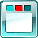 Live, ip, ver, Flash, system Teal icon