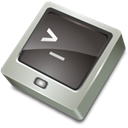 terminal, Prompt DarkSlateGray icon