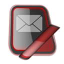 internetmail Black icon
