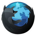 Hp, inverse, Firefox, Browser, Dock DarkSlateGray icon