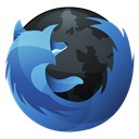 Firefox, Browser, Hp, Dock DarkSlateGray icon