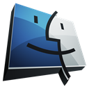 Finder, Dock, Hp Black icon