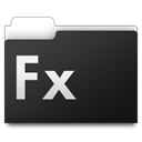 workfolders, Fx DarkSlateGray icon