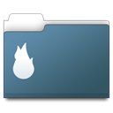 Thermo, workfolder SlateGray icon