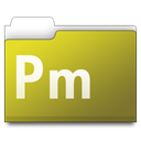 Pm, workfolders Goldenrod icon