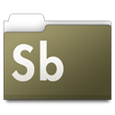 workfolders, Sb DarkOliveGreen icon