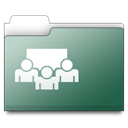 Connect, workfolder Icon