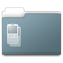 workfolder, Dev, Mob SlateGray icon