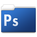 photoshop, workfolders, Ps DarkSlateBlue icon